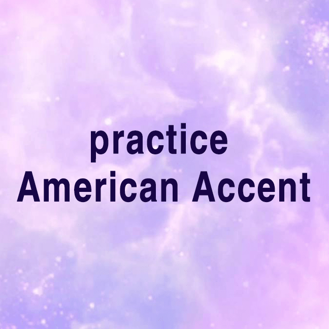 Practice American Accent with two sentences