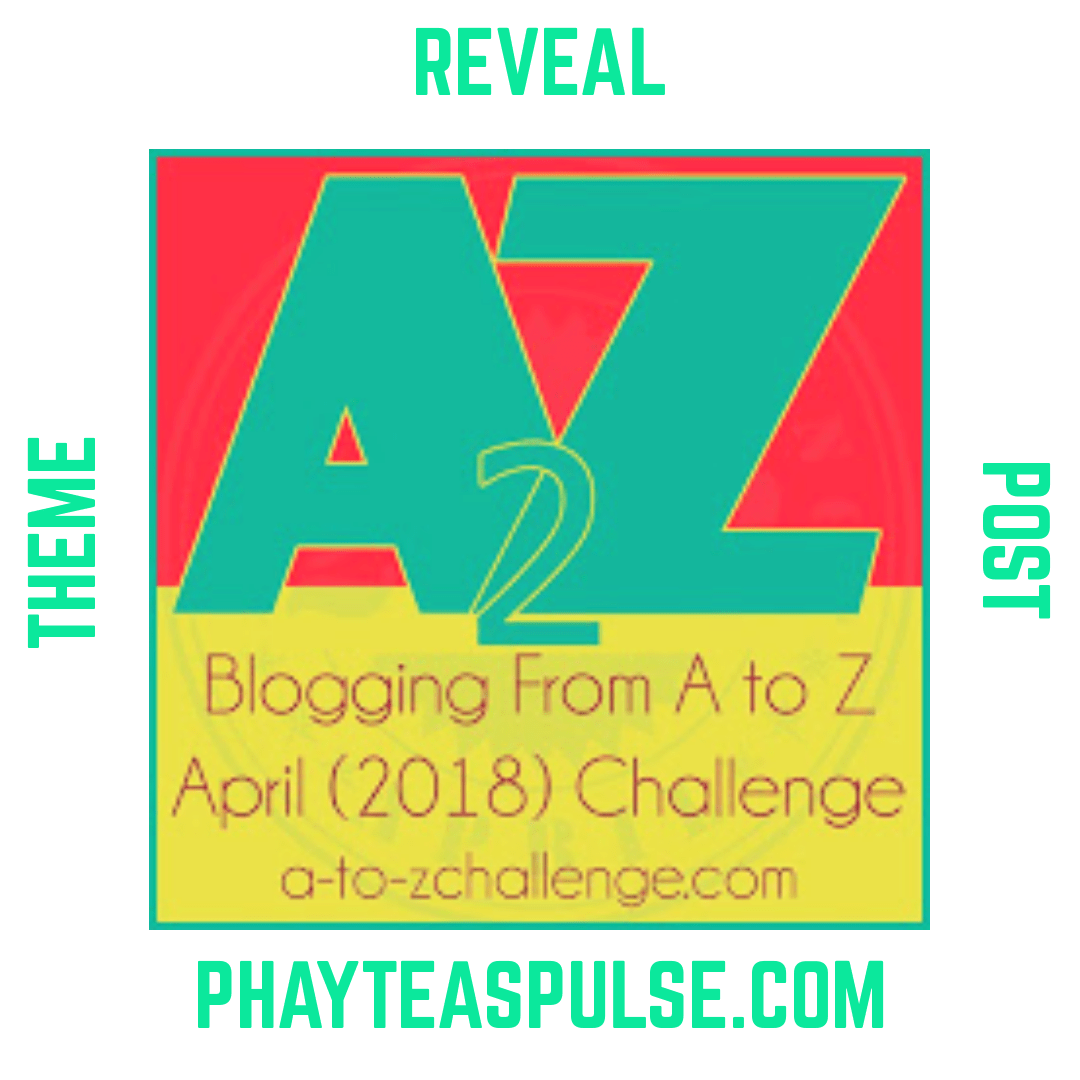 A to Z Challenge 2018: Theme Reveal