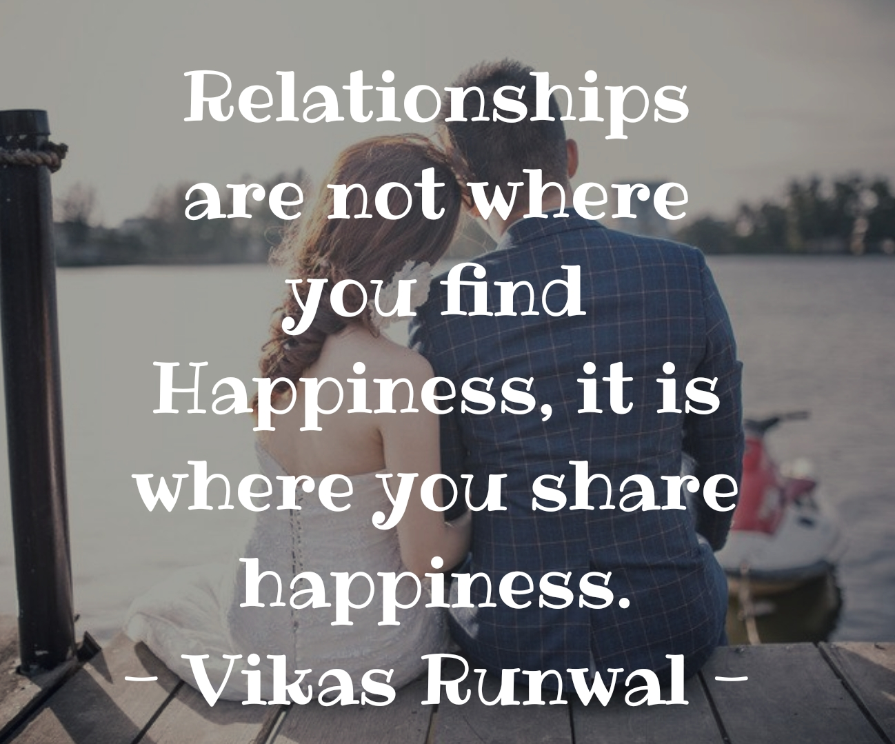 How to find happiness in a relationship