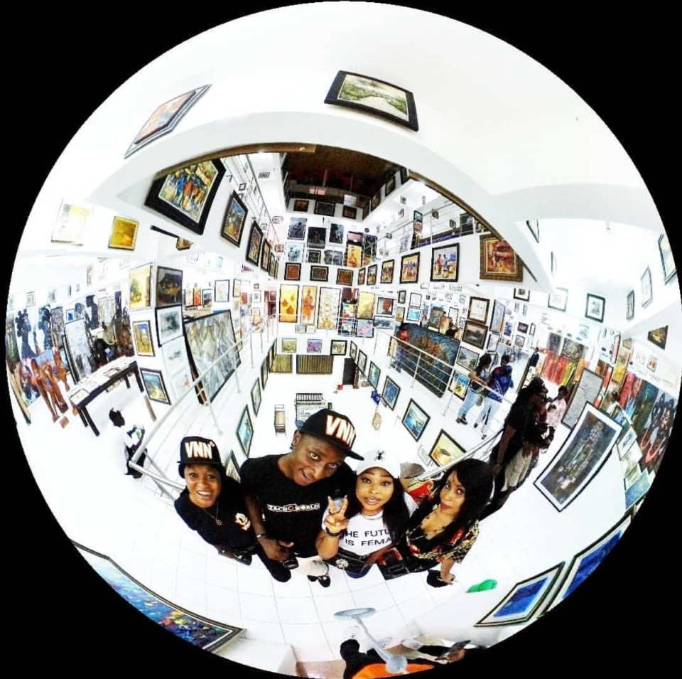 Visiting Nike Art Gallery
