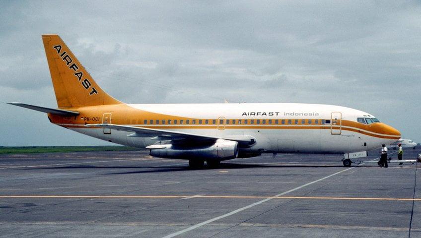 Airfast Indonesia Boeing 737-230