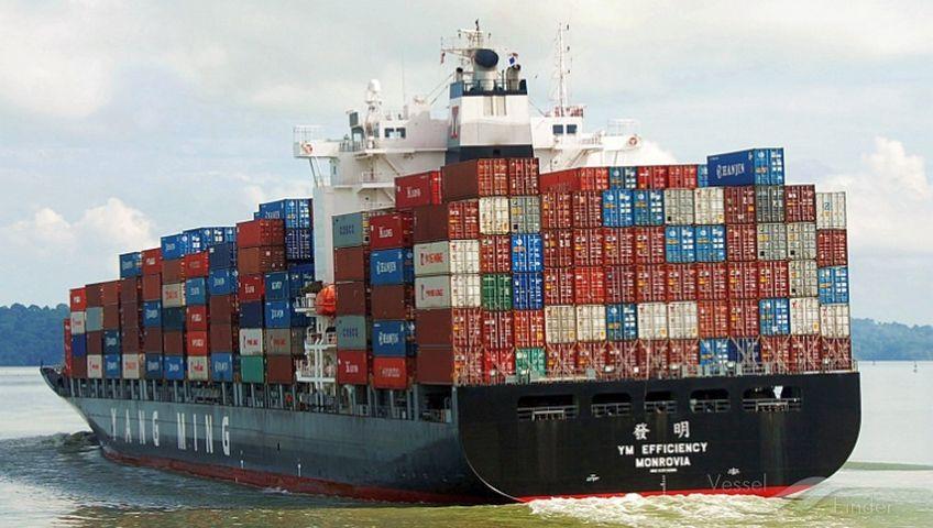 Terimbas Cuaca Ekstrim, Puluhan Kontainer Terjatuh dari Kapal My Efficiency