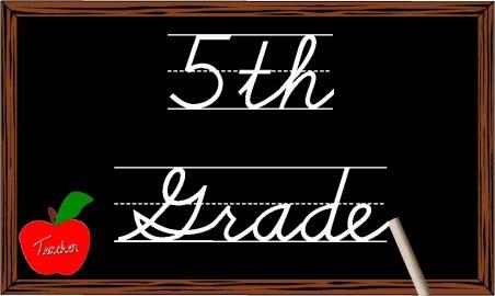 5th grade banner