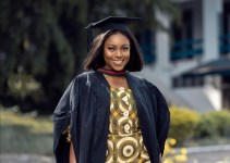 yvonne nelson bags a masters degree in international relations and diplomacy