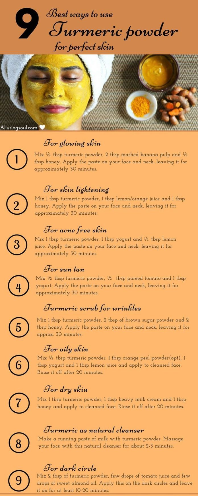 heres how to use turmeric masks for glowing skin