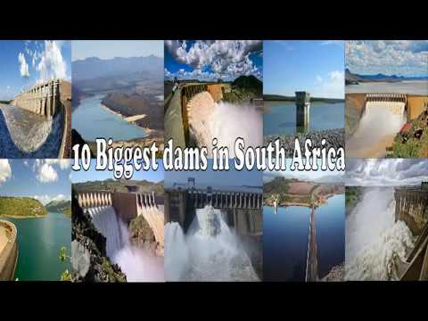 top 10 biggest dams in south africa