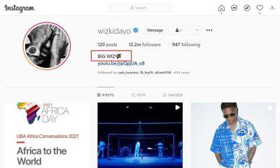 wizkid ready to change stage name afrobeats star adopts new instagram name big wiz