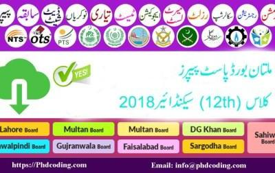 past paper multan board