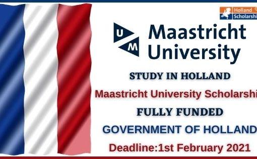 Maastricht University Scholarship 2021