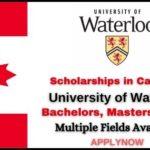 University of Waterloo Scholarships 2021