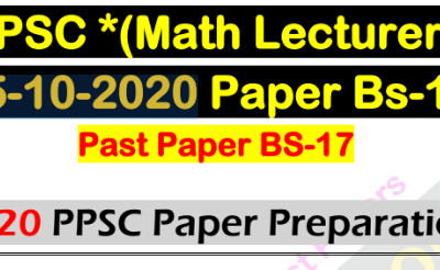 ppsc lecturer math book pdf
