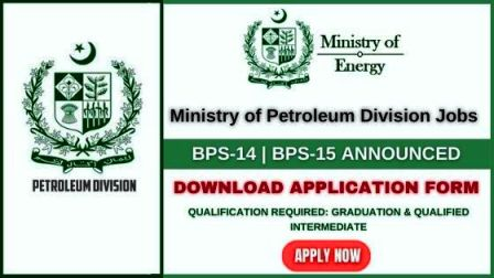Ministry of Energy Petroleum Division Jobs 2021