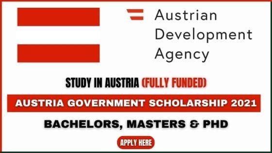 Austria Government Scholarship 2022