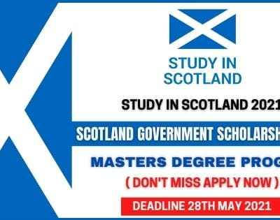 Scotland Government Scholarships 2021