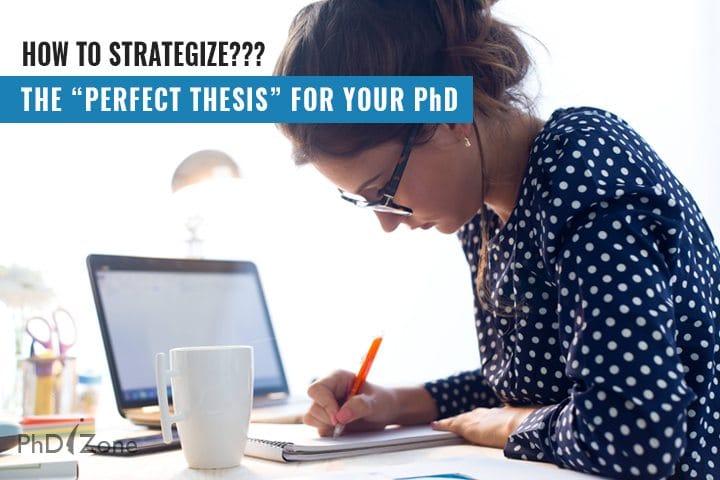 Perfect thesis writing Phdizone