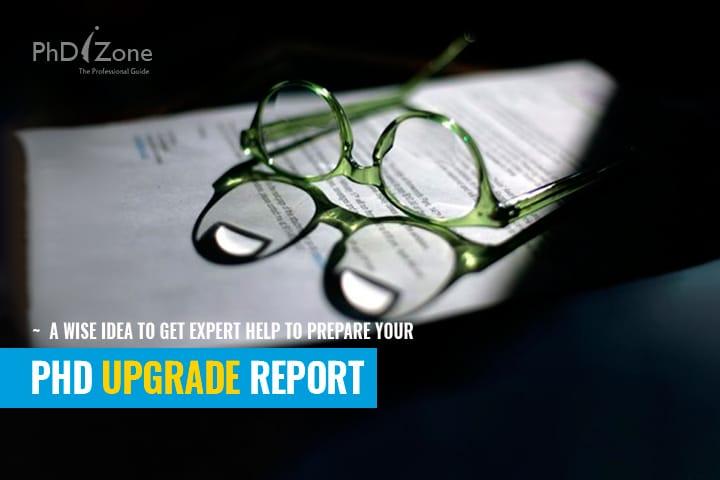 PhD upgrade report