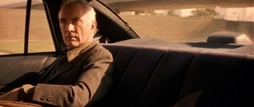 Flashbacks and The Limey (1999) Wilson in car scene