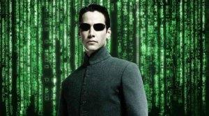 Prosthetic memory in The Matrix