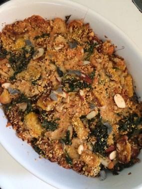 Delicata Squash Casserole on PhD Kitchen!