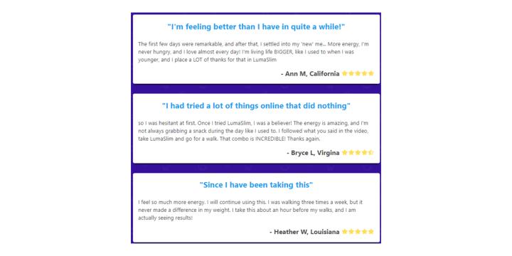 LexaPure Luma Slim reviews