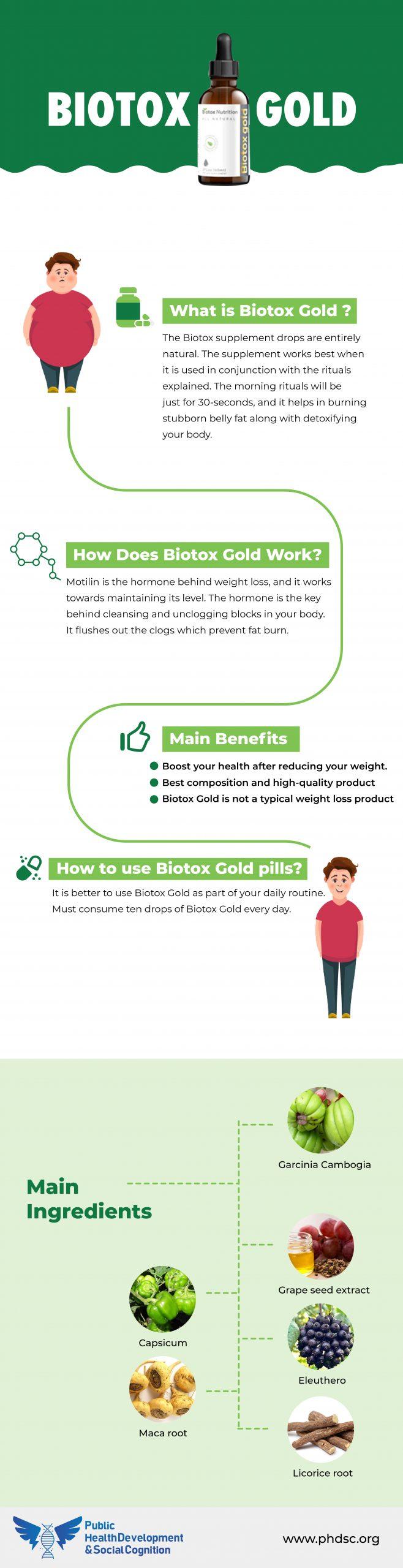 Biotox Gold Reviews Infographics