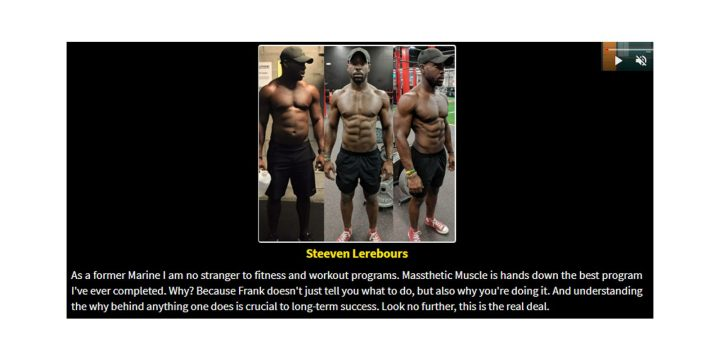 Massthetic Muscle customer reviews