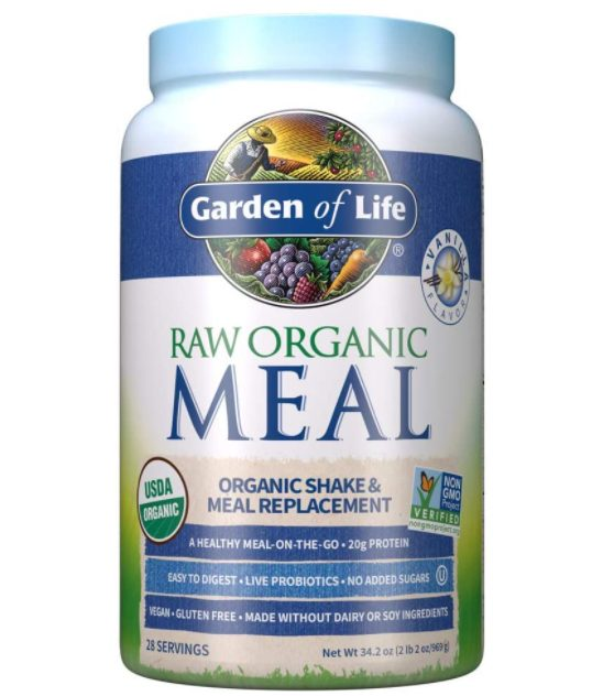 Garden of Life Raw - Organic Meal Replacement Powder