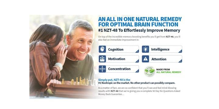 Brain NZT 48 supplement