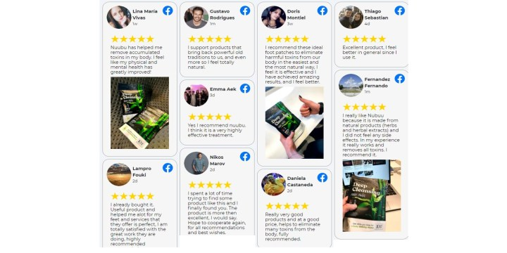Nuubu Detox customer reviews