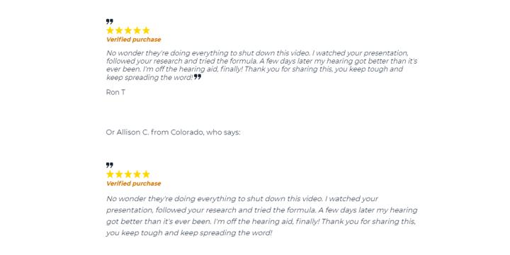 Volumil customer reviews