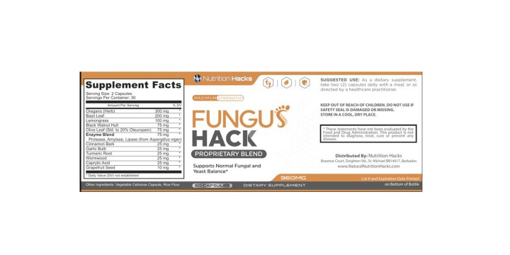 Fungus Hack Dosage