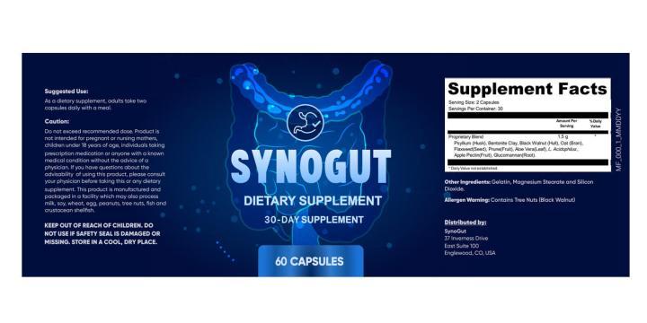 SynoGut Formula Dosage