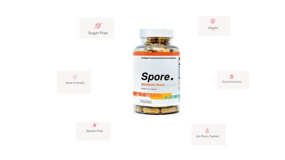Spore Metabolic Boost Longevity