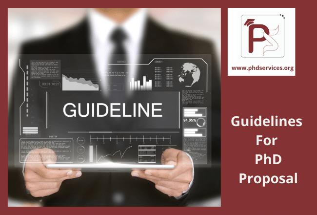 Guidelines for PhD proposal for research scholars