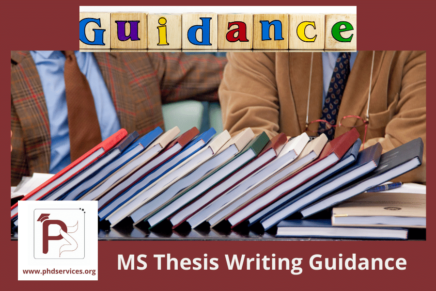 MS Thesis Writing guidance for Research Scholars