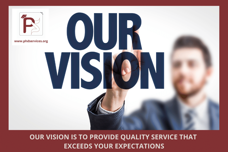 Our Vision for PhD services