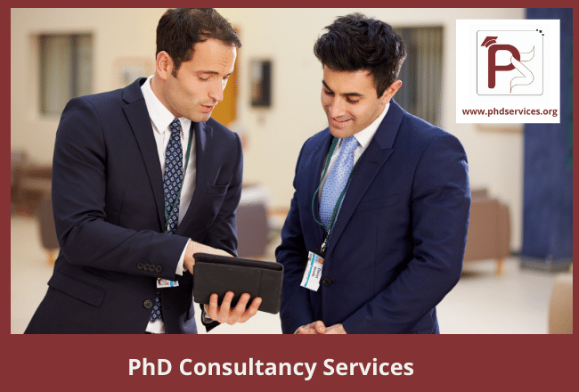Worldwide best PhD consultancy services