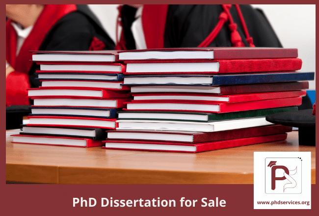 Buy dissertation for sale online