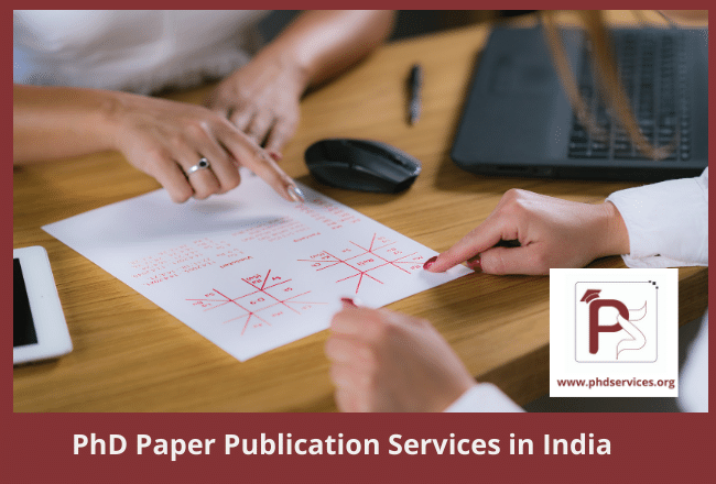 Cheap PhD paper publication services in india