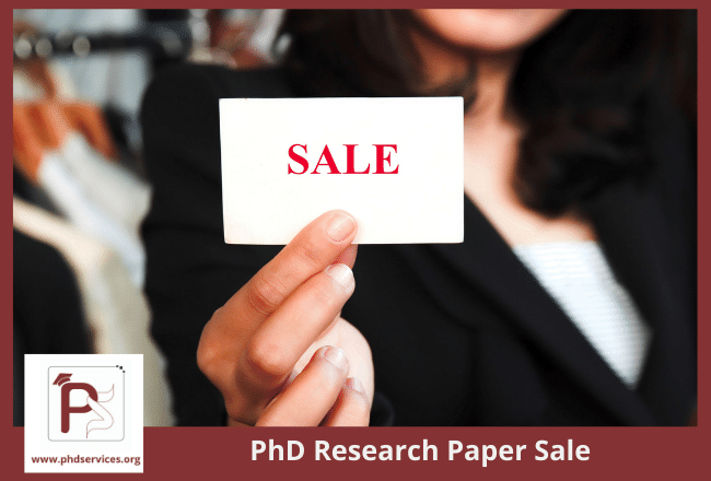 Best PhD Research Paper Sale Online for Research Scholars