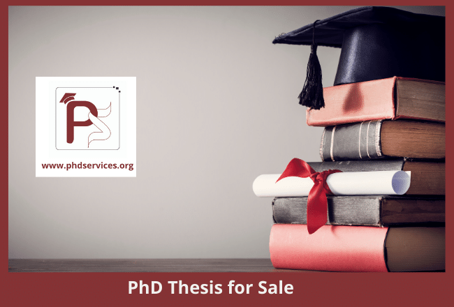 Buy PhD Thesis for sale Online