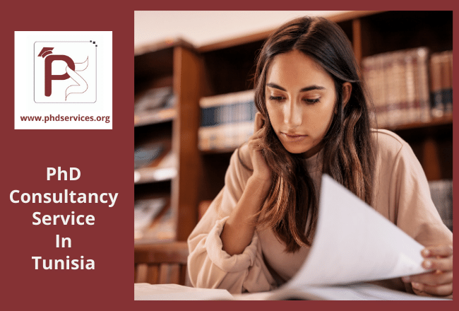 PhD consultancy Services in Tunisia for scholars