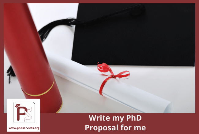 How to write my phd proposal for me