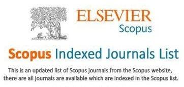 Scopus indexed journals in engineering