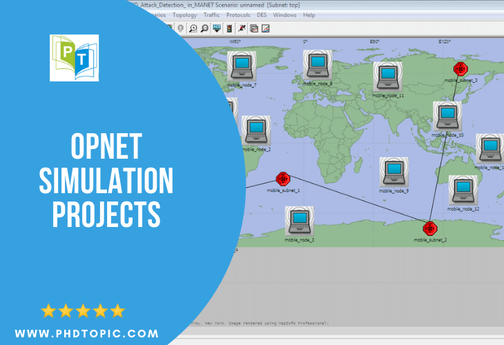 Opnet Simulation Projects Online Help