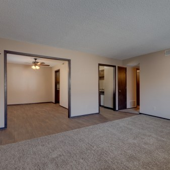 Pheasant Run, 2 Bedroom Apartment, Living Room