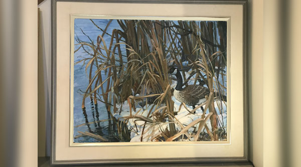 Watercolor by Donna Maclean Banquet Donation