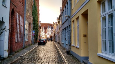 A typical Lubeck road.