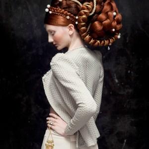 LA VESPUCCI photo © Isabelle Chapuis  hairstylist : Nicolas Jurnjack