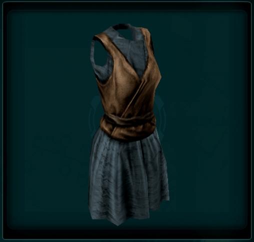 Plain Short Robe